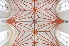 свод пошущенный над крестом Стоковое фото RF