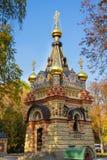 Свод часовн-захоронения принцев Paskevich стоковое изображение