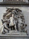 свод paris triumphal Стоковая Фотография RF