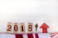 Свое уютное свойство в 2018 стоковое фото rf