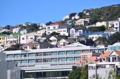 Свойство в Веллингтоне - Новой Зеландии стоковое изображение
