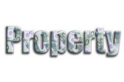 свойство Надпись имеет текстуру фотографии, которая показывает много 100 счетов денег евро стоковые фотографии rf