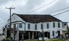 Свойство поврежденное ураганом, из дела Стоковая Фотография RF