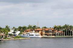 Свойство портового района в Флориде стоковое фото