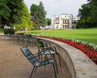 Свойство Caillebotte в Yerres, Франции Стоковое Изображение