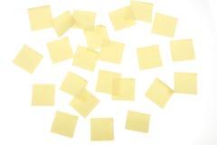 свой желтый цвет столба Стоковые Фотографии RF