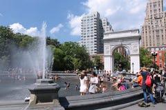 Свод Вашингтона, Нью-Йорк Стоковое фото RF