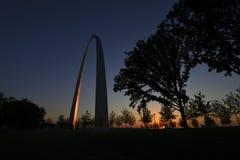 Свод ворот в Сент-Луис, Миссури стоковое фото
