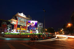 Свод ворот городка Китая в Бангкоке Стоковые Изображения