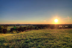 Свод ворот и горизонт Сент-Луис, Миссури стоковые изображения rf