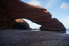 Свод в скале песчаника Стоковые Изображения RF