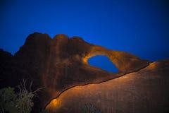 Свод горизонта на ноче Moab Юте Стоковые Фото