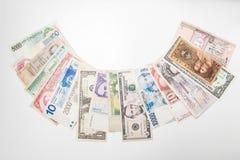 Свод денег мира стоковое фото