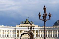 Свод здания генерального штаба в Санкт-Петербурге Стоковые Изображения