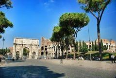 Свод Константина (Arco di Constantino) Стоковые Фото