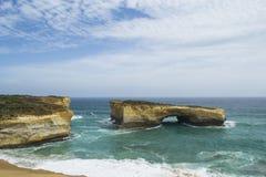 Свод Лондона, 12 апостолов, большая дорога океана, южное Виктория Стоковая Фотография RF