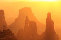 Свод на восходе солнца, национальный парк женщины шайбы Canyonlands, Юта, u Стоковые Фото