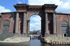 Свод на новом острове Санкт-Петербурге Голландии Стоковая Фотография