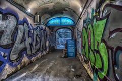 Свод с граффити стоковая фотография rf