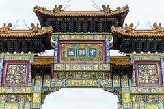Свод Чайна-тауна, строб Стоковая Фотография