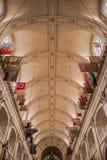 Своды католической церкви Стоковое Изображение