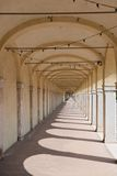 Своды на dei Capuccini Loggiato в Comacchio Стоковое фото RF