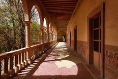 Своды на jaral de berrio покинули крупное поместье Мексику Стоковая Фотография