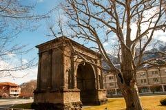 Свод Augustus (Arco di Augusto) стоковые фото