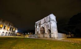 свод constantine Италия rome Стоковые Фото