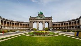 Свод de Триумф Брюссель Стоковое Изображение RF