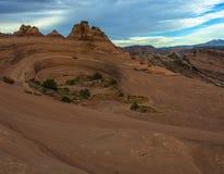 Свод Deliacate ландшафта пустыни Стоковые Фото