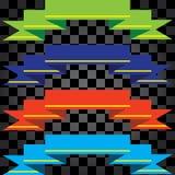 Свяжите другие цвета тесьмой Стоковая Фотография RF