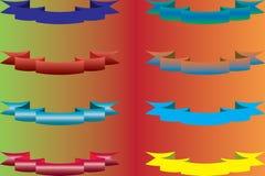 Свяжите другие цвета тесьмой Стоковое Фото