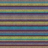 связанная картина безшовная Пестротканый племенной шаблон Стоковые Изображения RF