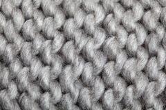 Связанная картина шерстей Стоковые Изображения