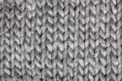 Связанная картина шерстей Стоковое фото RF