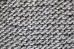 Связанная картина шерстей Стоковые Изображения RF