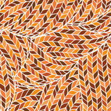 Связанная картина Doodle безшовная красочная орнаментальная иллюстрация штока