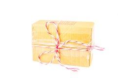 Связанная коробка пакета Стоковое Изображение