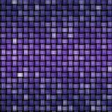 Связанная красочная текстура как абстрактная предпосылка холста Стоковая Фотография RF