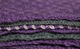 Связанная куча ткани Стоковые Фото