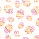 Связанная предпосылка пасхальных яя также вектор иллюстрации притяжки corel Стоковая Фотография