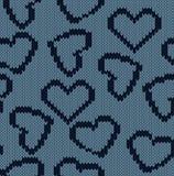 Связанная предпосылка с изображением сердец Стоковые Изображения