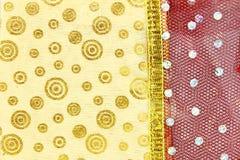 Связанная предпосылка текстуры ткани Стоковые Изображения RF