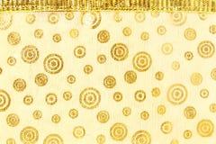 Связанная предпосылка текстуры ткани Стоковое Изображение