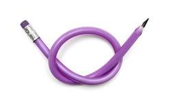 связанная резина карандаша узла Стоковые Изображения RF