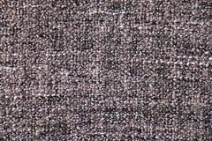 Связанная серым цветом текстура ткани Стоковая Фотография RF