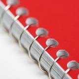 связанная спираль тетради Стоковые Фото