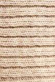 связанная текстура шерстей стоковая фотография rf