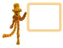 связанная форма куклы Стоковое Фото